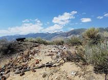 Trash on public lands in Rattlesnake Gulch photo by sherri Lisius, BLM