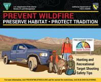 Fire prevention info graphic