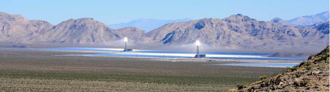 Ivanpah Solar panels field