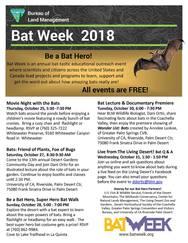 bat week flyer