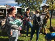 seymour antelope greets families in the morning in the park for fire prevention.jpg.crdownload