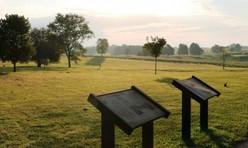 camp nelson field waysides Civil war kiosks_Photo DOI blog