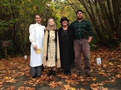 Dress up as the past historical hosts of Headwaters Forest reserve for Halloween