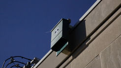 Bat box on the US Interior building in DC. Photo by DOI.