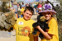 Kids at the Santa Rosa and San Jacinto Mountains National Monument. Photo by Santa Rosa and San Jacinto Mountains National Monument Visitor Center.