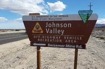 Johnson Valley OHV Area. Photo by BLM.