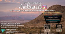 InstaMeet at Mojave Trails National Monument. Photo by Kyle Sullivan, BLM.