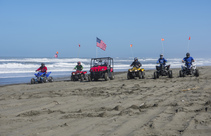 Off-road vehicles at the Samoa Dunes. Photo by John Ciccarelli, BLM.