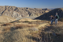 Hikers on the Pacific Crest Trail. Photo by Bob Wick, BLM.