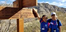 Students at Santa Rosa and San Jacinto Mountains National Monument. Photo by Tracy Albrecht, BLM.