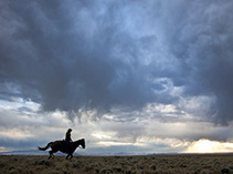 Wyoming public lands. Photo by Bob Wick, BLM.