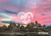 CAlove at Trona Pinnacles. Photo by Bob Wick, BLM.