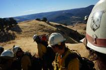 Wildland firefighters. Photo by BLM.