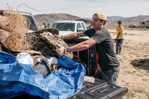 Public lands cleanup. Phot by  Photo courtesy of John Kingston.