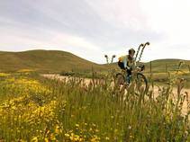 2019 Panoche Desert Hills MTB Race. Photo by Mike Westphal, BLM.