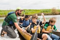 Canoemobile 2019. Photo by Peter MacMillan, Wilderness Inquiry.