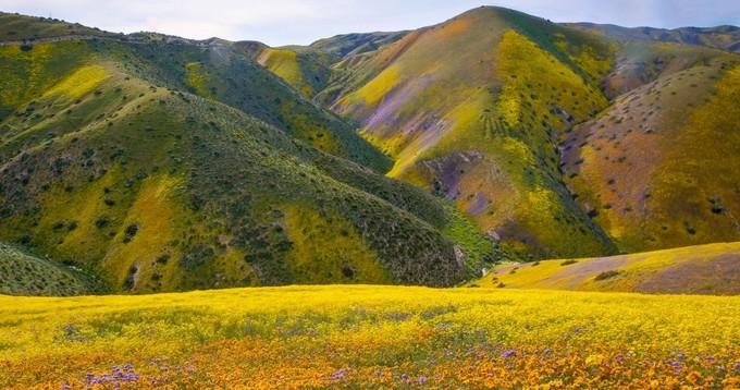 California's southern coast ranges. Photo by Bob Wick, BLM.