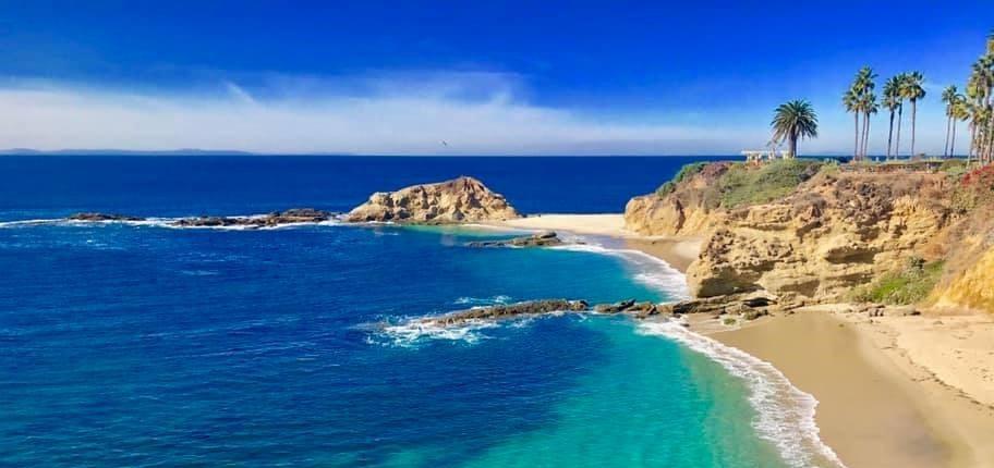 California Coastal National Monument Orange County Rocks and Islands from Laguna Beach. Photo by Doug Herrema, BLM.