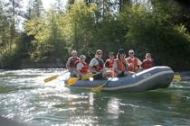 Rafting the Trinity River. Photo by Bob Wick, BLM.