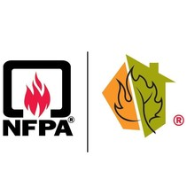 NFPA and Firewise logo.