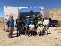 Cleanup for Desert Tortoise Week in Palm Desert, CA. Photo by Dani Ortiz, BLM.