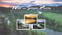 USPS 2019 Wild and Scenic River stamp collection.
