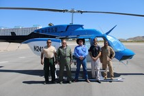 WHB survey crew. Photo by BLM.