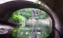 Urban waters. Photo by USGS.