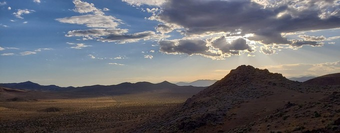 Spangler Mountains. Photo by Sterling White, BLM.