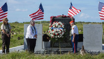 Midway ceremony. Photo by DOI.