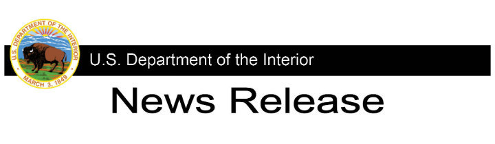 U.S. Department of the Interior News Release