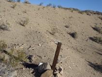 Mining claim. Photo by BLM.