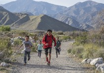 Kids playing on public lands. Photo by Bob Wick, BLM.
