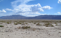 Public lands at the south end of Panamint Valley. Photo by the BLM.