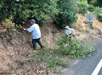 Volunteers take part in the 1,000 Hands to Protect Lake County Homes in Kelseyville