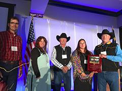 People receiving awards