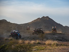 Download a photo of off-highway vehicles at Red Canyon in the Needles Field Office.