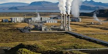 A photo of a geothermal plant.