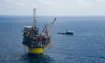 offshore oil rig gulf of mexico.