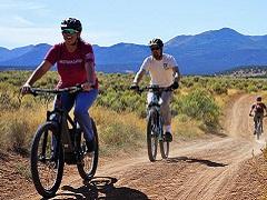 e bikes on public land.