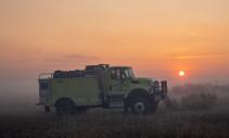 BLM fire engine.