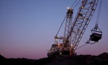 Coal crane.