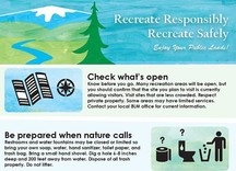 BLM CA recreation safely tip sheet.
