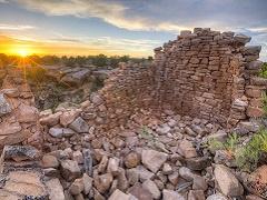 Canyons of the ancients ruins.