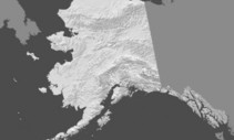 Alaska map.