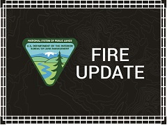 FA graphic that reads fire updates.