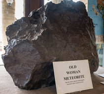 A photo of the so called Old Woman meteorite.
