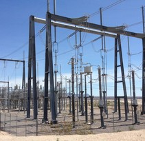 Electric facility and transmission lines