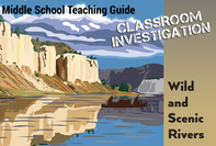 Graphic that says My Public Lands Classroom Investigation