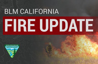 Graphic that says Fire Update